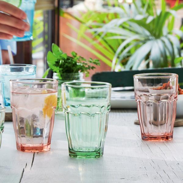 S/6 τμχ ποτήρια νερού Mint