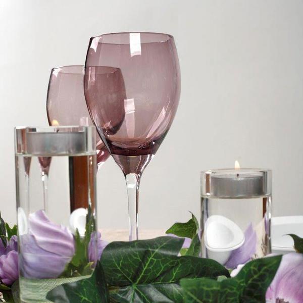 Σετ 12 τεμ ποτήρια Irid Μωβ