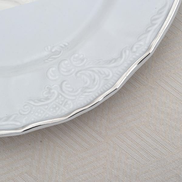 Σετ 96τεμ πιάτα με πλατίνα Bernadott