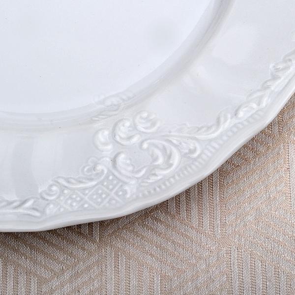 Πιάτα για 12 άτομα λευκά Bernadott