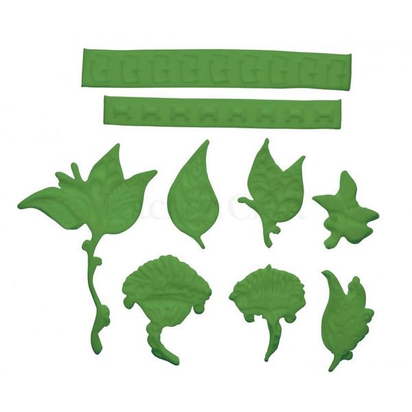 Φόρμα σιλικόνης Leaves