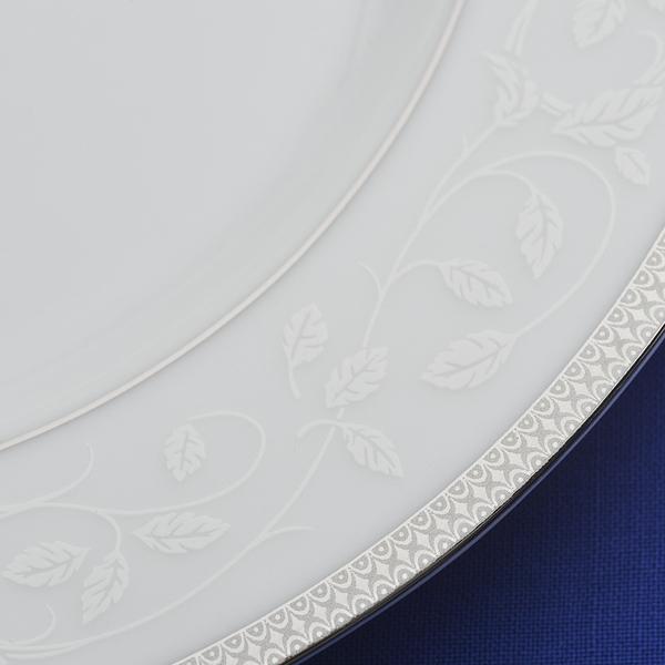 S/72 τμχ πιάτα Symphony Platinum