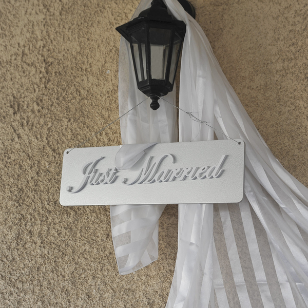 Just Married Ασημί