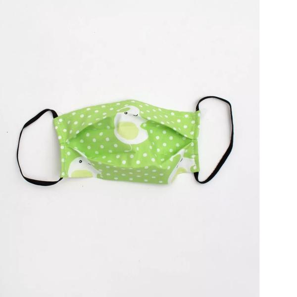 Παιδική αποστειρωμένη μάσκα ready to use elephant green