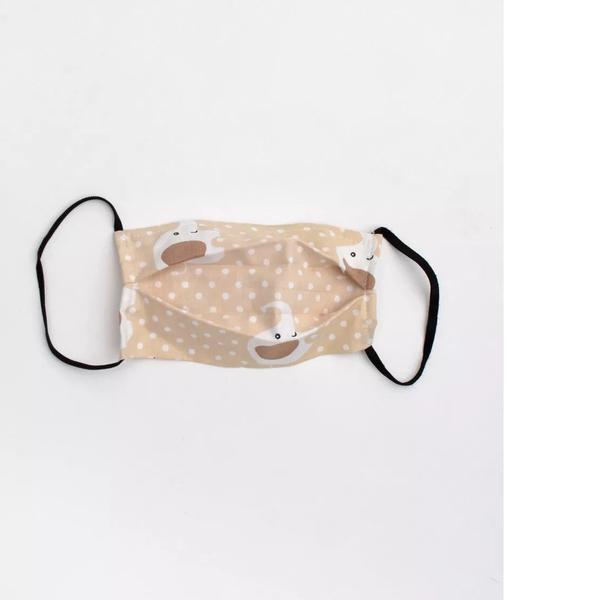 Παιδική αποστειρωμένη μάσκα ready to use elephant μπεζ