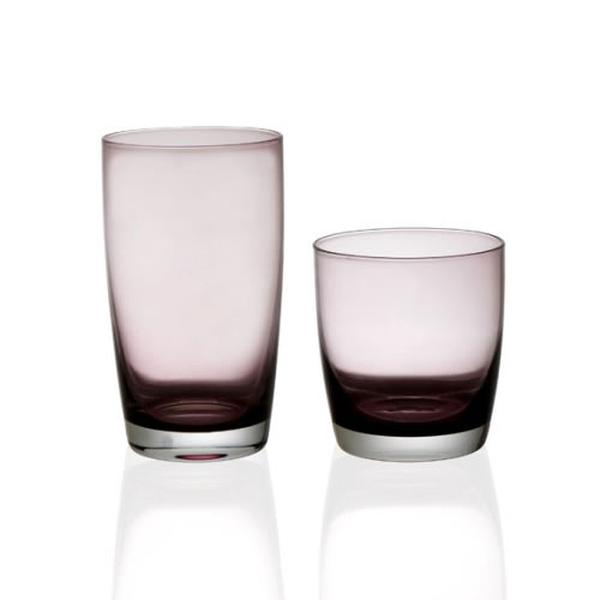 Σετ 12 τεμ ποτήρια καθιστά Irid μωβ