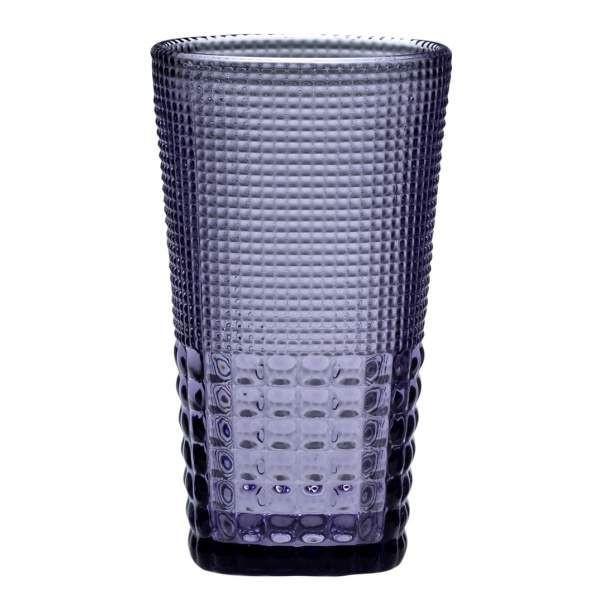 S/6 τμχ νερού Pearls purple