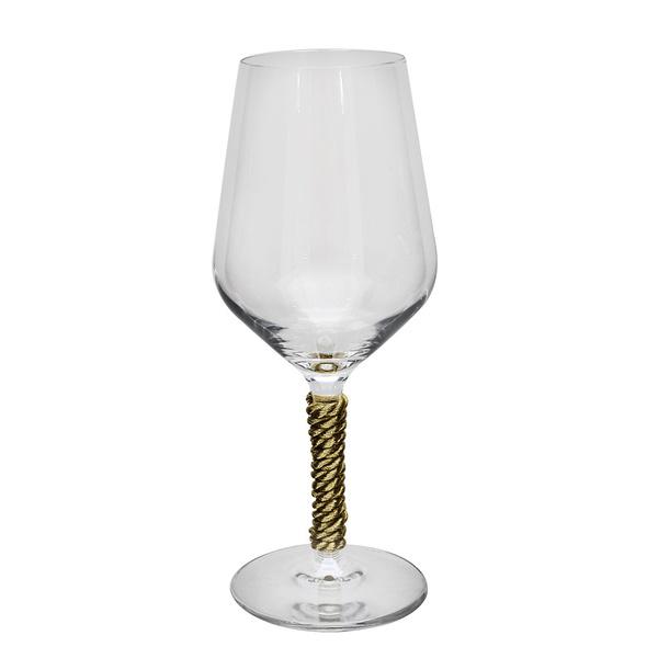 Ποτήρι με χρυσό κορδόνι