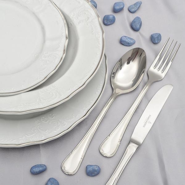Σετ 72τεμ πιάτα με πλατίνα Bernadott