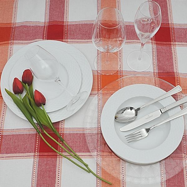 Πιάτα για 12 άτομα Polo λευκό