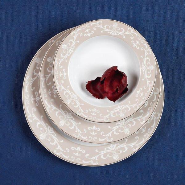 Πιάτα για 12 άτομα Charlotte Oro