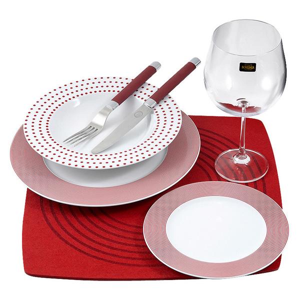 Σετ 26 τεμάχια πιάτα-ποτήρια