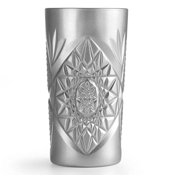 Σετ 6τμχ ποτήρια Hobstar silver