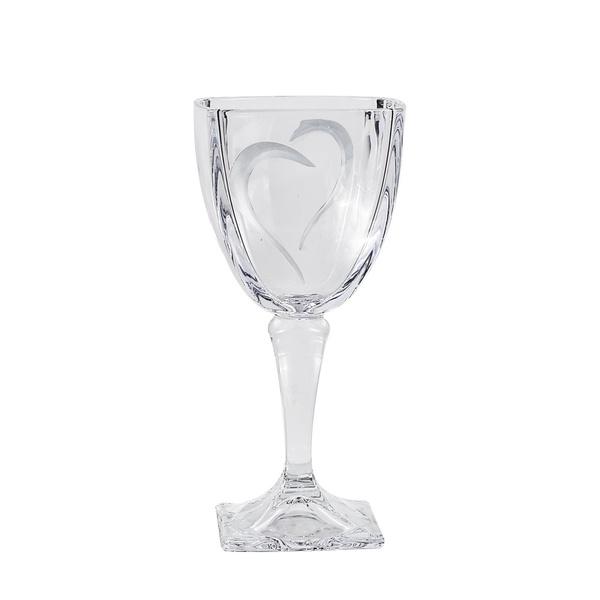 Ποτήρι κρασιού καρδιά