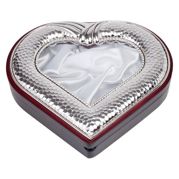 Στεφανοθήκη καρδιά σφυρήλατη
