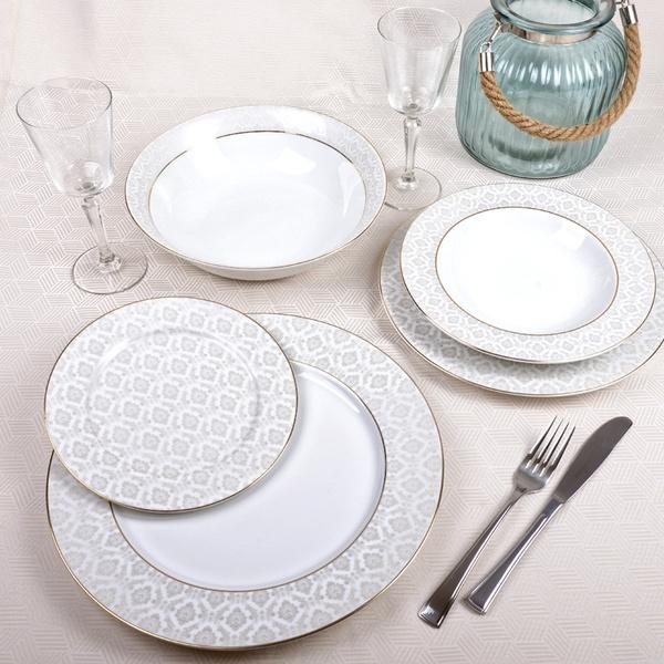 Πιάτα για 6 άτομα Margot Gold