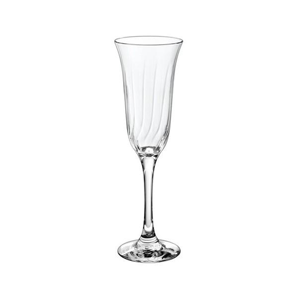 Σετ 6τμχ ποτήρι σαμπάνιας Giglio