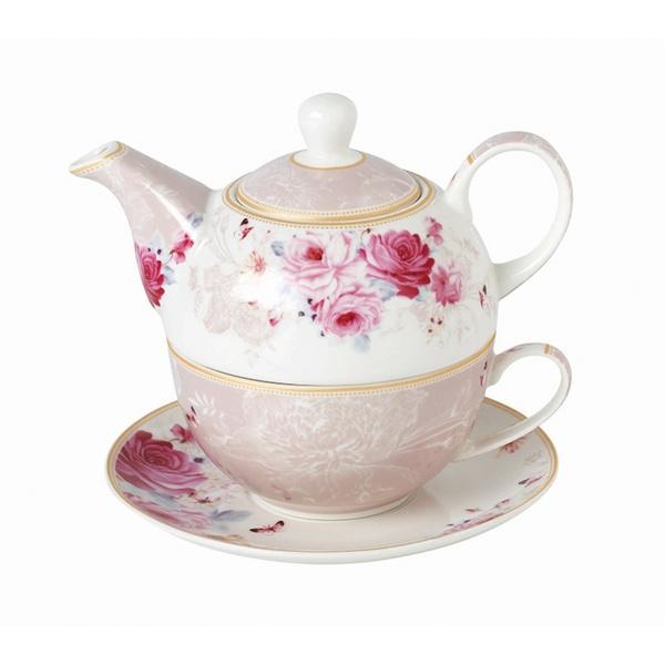 Tea for one Floral Paris Roses
